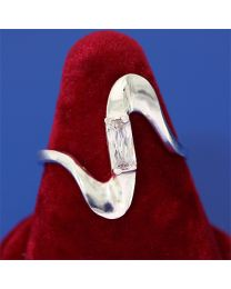 Zilveren ring met Zirkonia