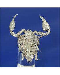 Zilveren ring schorpioen