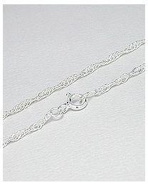 Zilveren collier - 45.0 cm