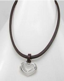 Collier met metalen hanger