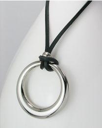 Collier met metalen hanger - 40.0 cm