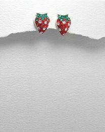 Zilveren oorbellen met Zirkonia's
